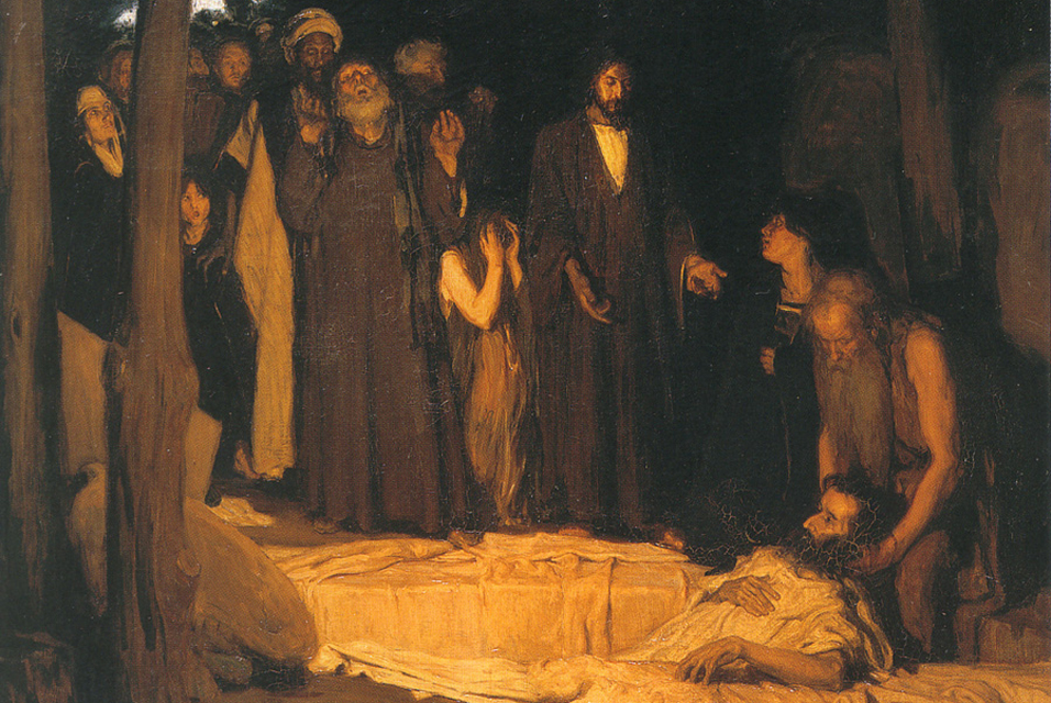 Imaging Lazarus: The Undead in Contemporary Painting
