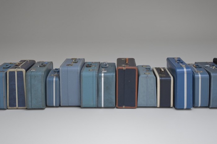 Smoke and Clouds; Zoe Leonard's 1961, 2002-Ongoing Suitcases through ...
