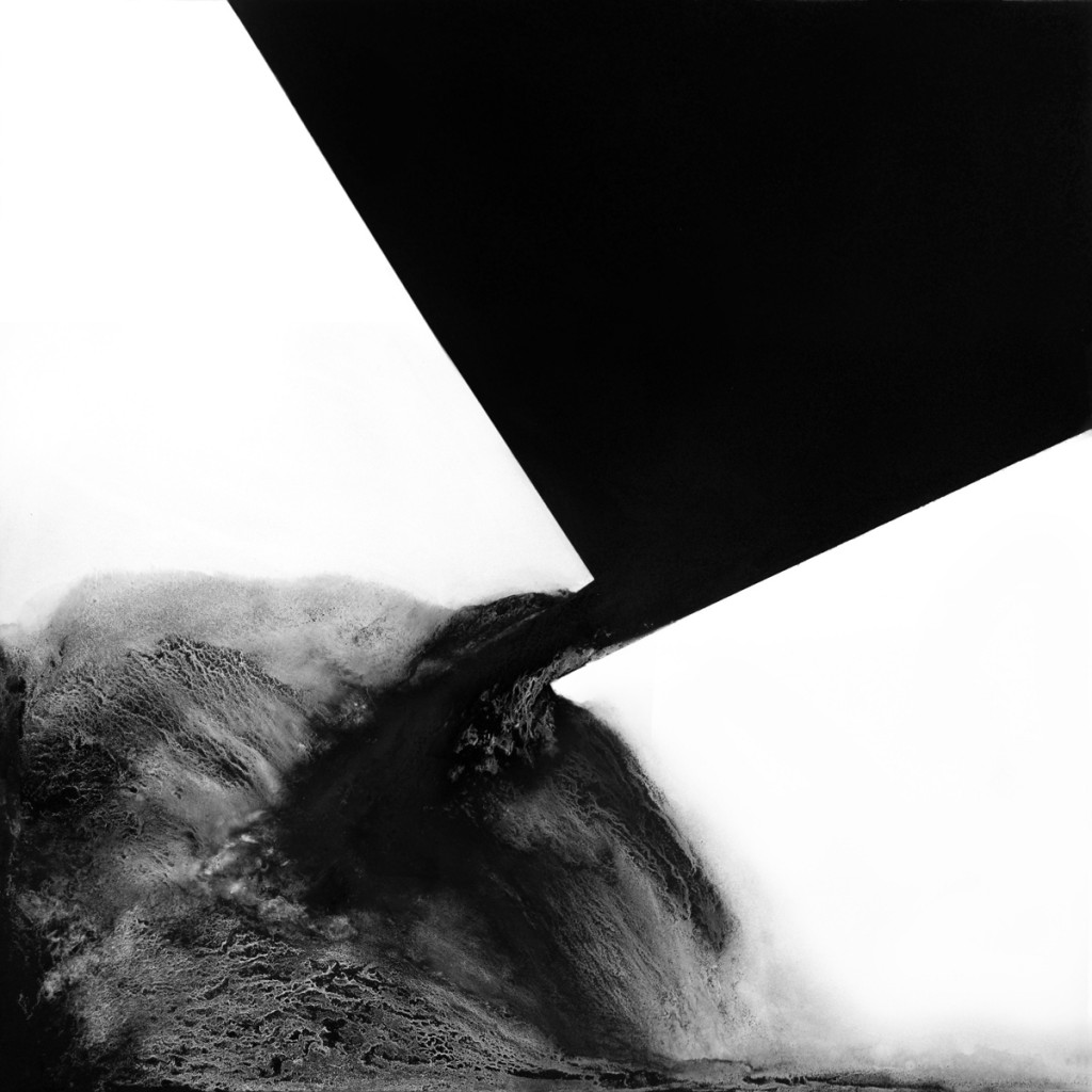 Seanna Reilly, Resolving Kasimir, 2011, 48x48, graphite on Dibond