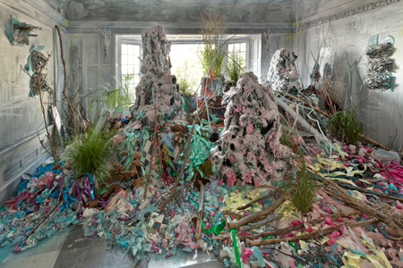 Tricia Middleton, Form Is the Destroyer of Force, Without Severity There Can Be No Mercy (installation view), 2012. Courtesy Oakville Galleries. Photo: Toni Hafkenscheid.