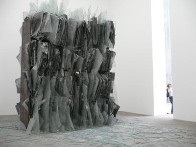 Anselm Kiefer, Sternenfall/Shevirath Ha Kelim (Falling Stars/Destruction of the Vessels), 2007. Courtesy of Raphaël Labbé.