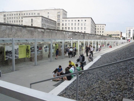 The Topography of Terror exhibit in 2011. Berlin, Germany. Courtesy of the author.