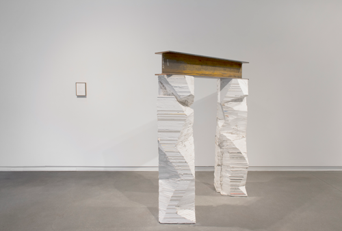 Installation view of All Beneath the Moon Decays at Daniel Faria Gallery