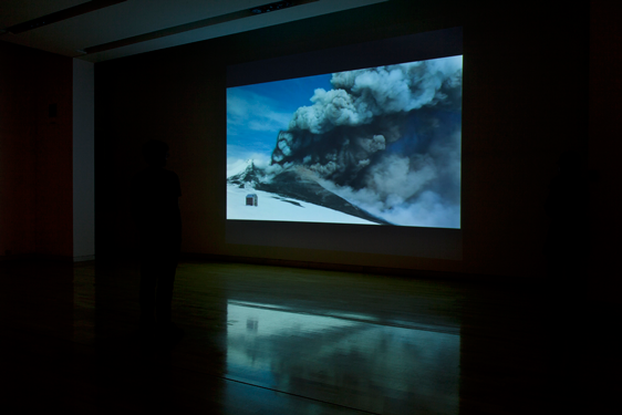 72 beats per minute, installation view, HD 16:9 stereo sound. Thanks to Marco Fulle, Trent Baker