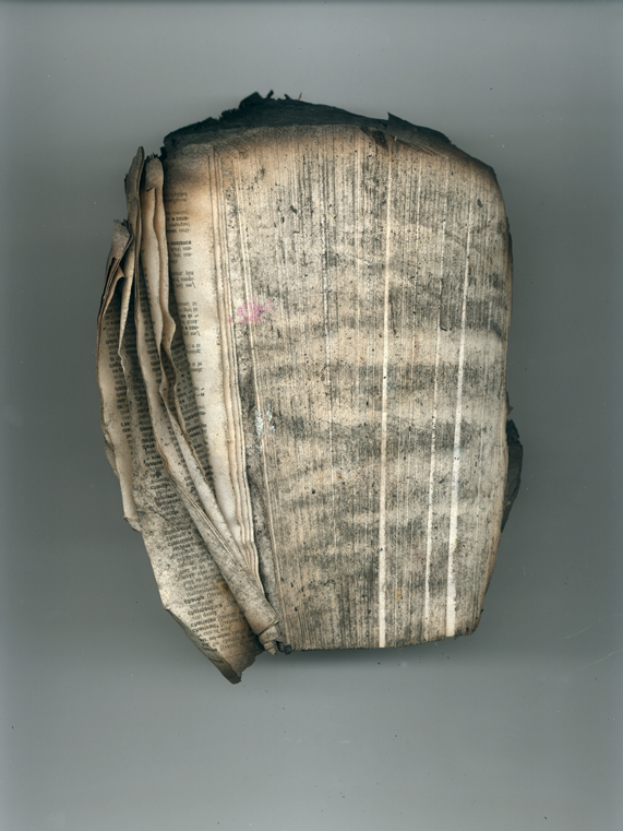 Book no 29 front, 2001, Ink jet print (Giclée) on Arches paper.