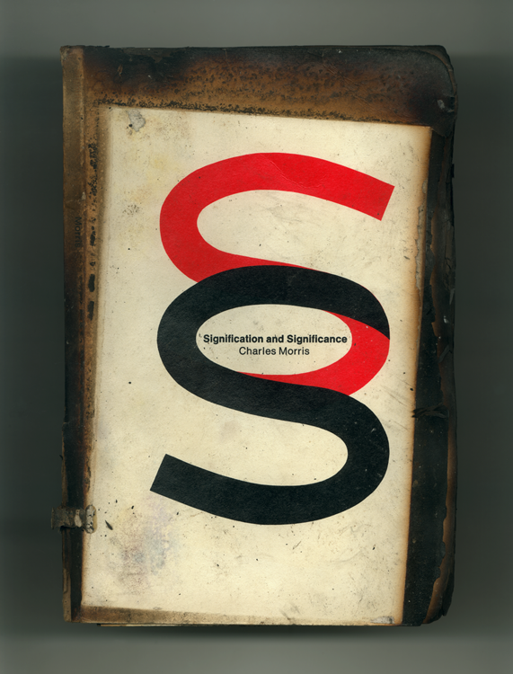 Logo Book no 145 front, 2001, Ink jet print (Giclée) on Arches paper.