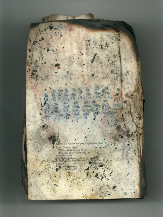 White Book no 44 back, 2001, Ink jet print (Giclée) on Arches paper.