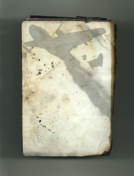 White Book no 45 back, 2001, Ink jet print (Giclée) on Arches paper.