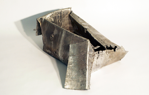 Help Yourself, 2007. Cast aluminum. Image courtesy of the Artist
