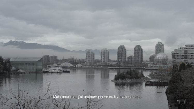 Vincent Chevalier, still from À Vancouver, 2016, Digital video. Image courtesy the artist.