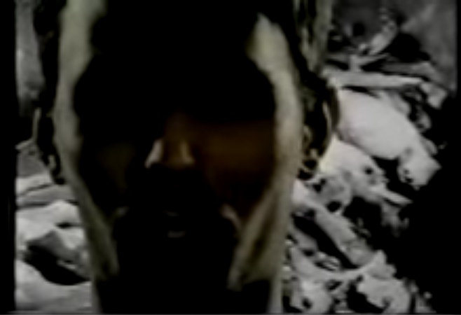 James Wentzy, By Any Means Necessary, 1994, Video still. Image courtesy of the artist.