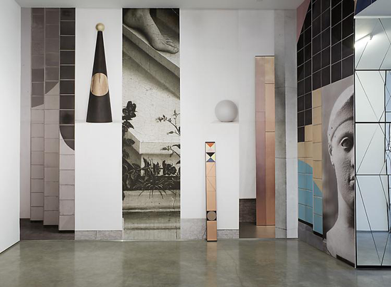 The Mirror (installation view), 2013, Marianne Boesky Gallery, New York.